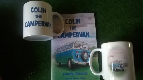 Colin the Campervan Mug