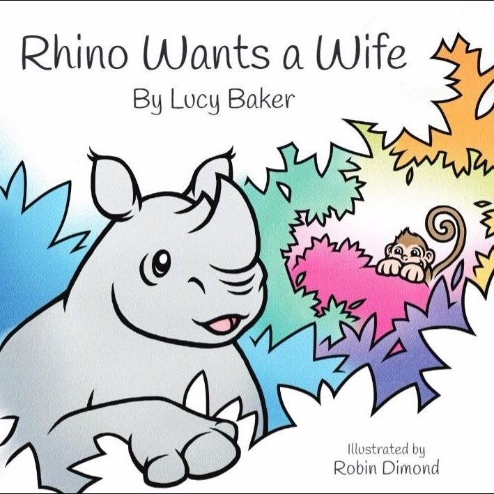 NEW Rhino Wants a Wife by Lucy Baker