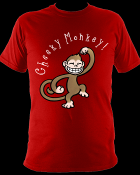 Cheeky Monkey Red £10.99/£12.99