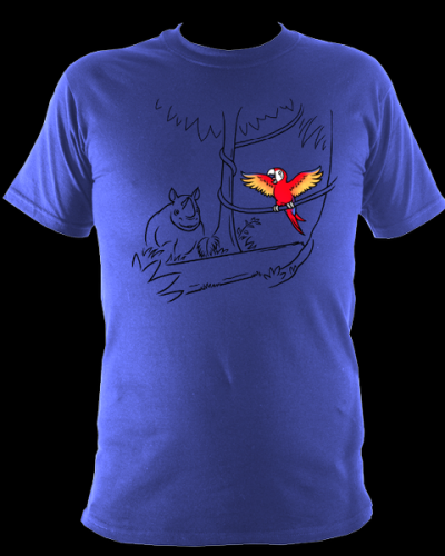 T shirt Parrot