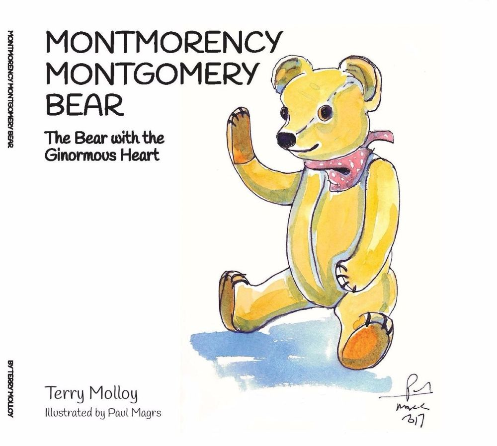 NEW! Montmorency Montgomery Bear - The Bear with the Ginormous Heart by Ter