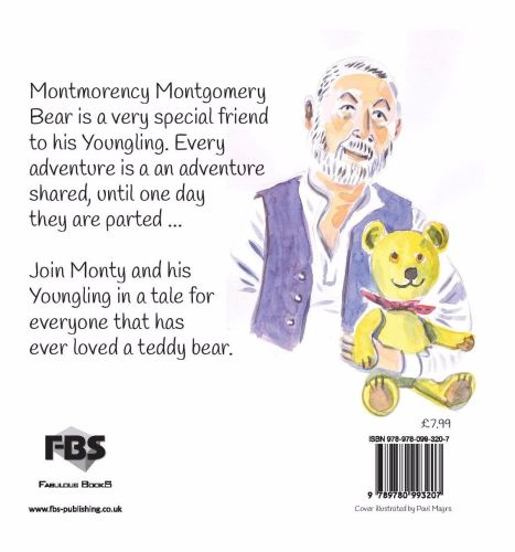 Montmorency Montgomery Bear - The Bear with the Ginormous Heart by Terry Mo