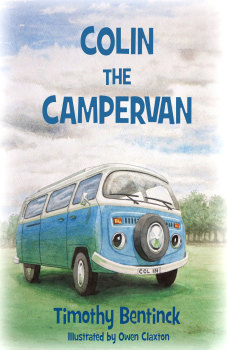 Colin the Campervan by Timothy Bentinck