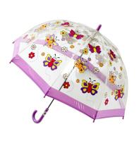BUGGZ Clear PVC Butterfly Child's Dome Umbrella