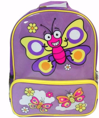 BUGGZ Purple Butterfly Kid's Backpack / Rucksack