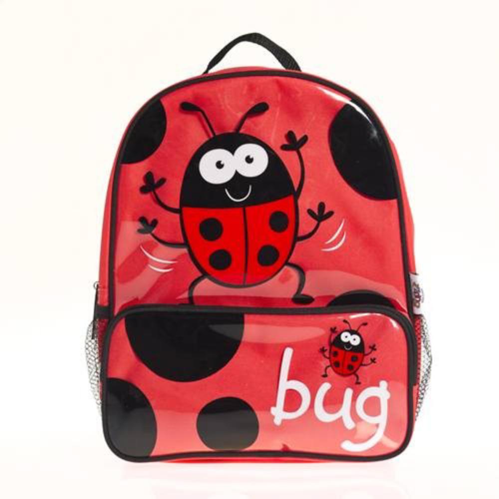 Gorgeous BUGGZ Ladybird / Ladybug Kid's Backpack / Rucksack