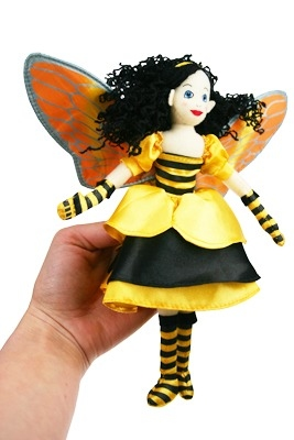 Lovely Bee Fairy Finger Puppet / Doll