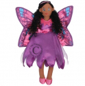 Lovely Butterfly Fairy Finger Puppet/Doll Dark/Light Skin