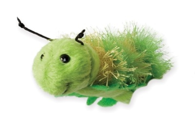 Cute Green Caterpillar Finger Puppet