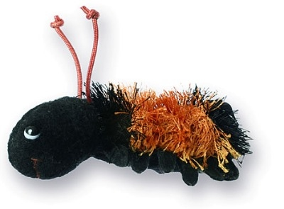 Cute Woolly Bear Caterpillar Finger Puppet