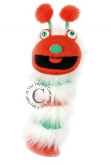 FAB Fluffy Bright & Fun Sockette 40cm Glove Puppet - Chris