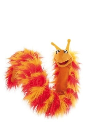 Gorgeous Fluffy Reni LONG Caterpillar 'Living Puppet'