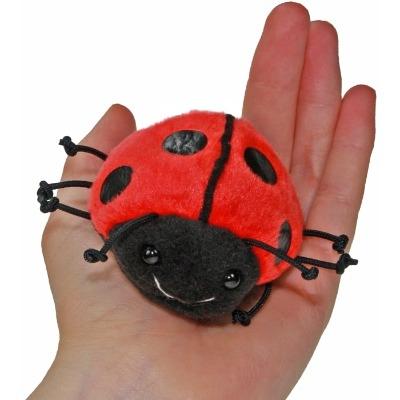 Cute Ladybird Finger Puppet