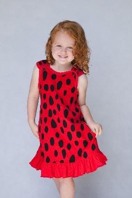 Gorgeous Designer Ladybird / Ladybug A-Line Dress by Noo