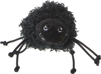 Not At All Scary Fluffy Spider Finger Puppet