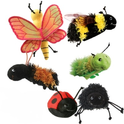 Fab Mini-Beasts Finger Puppet Set
