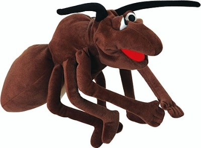 Fabulous Anton the Ant 'Living Puppet'  - 40cm Hand Puppet