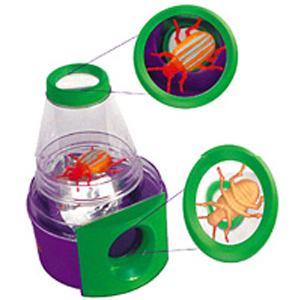 Creature Peeper Insect Magnifying Jar/Bug Viewer from Insect Lore - 2 Angle