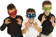 Incredible Buzzerks Bug-Goggles - Look & See Like A Bug! 3 Colours - Insect