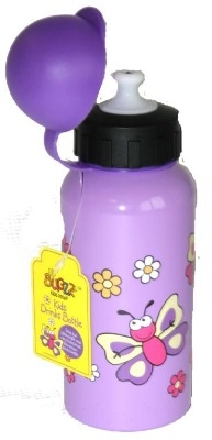 Cute BUGGZ Purple Butterfly Drink Bottle - Lovely Gift