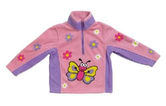 Soft and Warm Butterfly Fleece BUGGZ Age 2-3, 3-4, 4-5