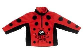 Soft and Warm Ladybird / Ladybug Fleece BUGGZ Age 2-3, 4-5