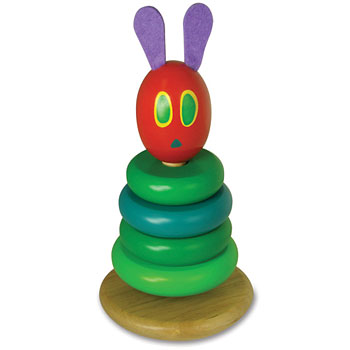 Very Hungry Caterpillar VHC Wooden Stacking Toy