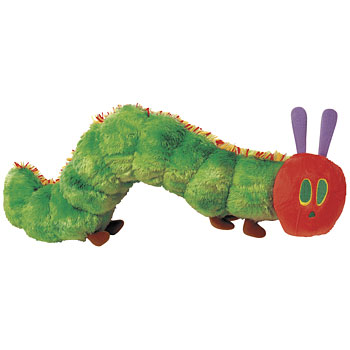 Very Hungry Caterpillar VHC Beanie Toy 26 cm