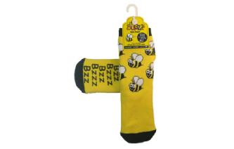 Warm Non-Slip BUGGZ Bee Welly Socks