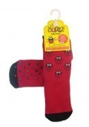 Warm Non-Slip Ladybird/Ladybug Welly Socks BUGGZ