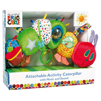Very Hungry Caterpillar Attachable Activity Toy with Music & Sounds