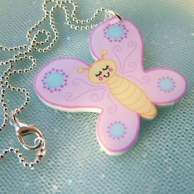 Bethany the Butterfly Necklace
