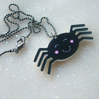 Sammy the Spider Necklace