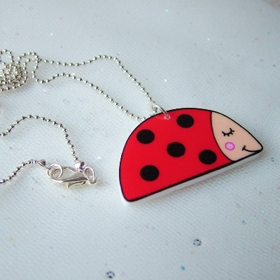 Lenny the Ladybird Necklace