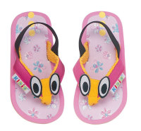 Cute KIDID Butterfly Character Flip-Flops / Sandals