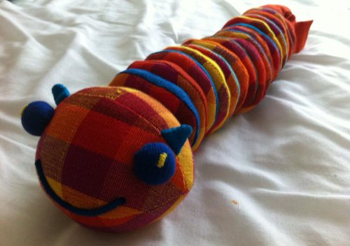 Fun Counting Donut Caterpillar Toy by Ethical Company Barefoot