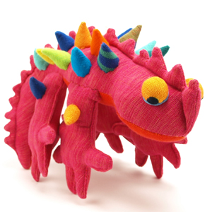 FAB Funky Thorny Devil Lizard Toy by Ethical Company Barefoot - Washable!