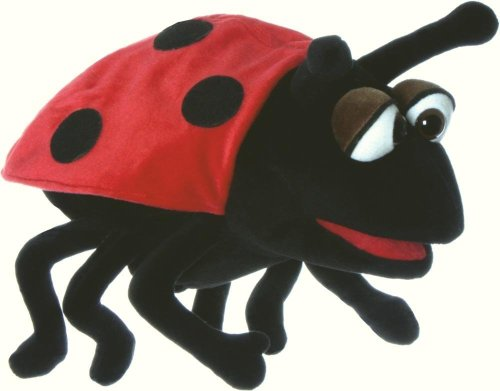 Hubi the Ladybird / Ladybug Puppet from Living Puppets