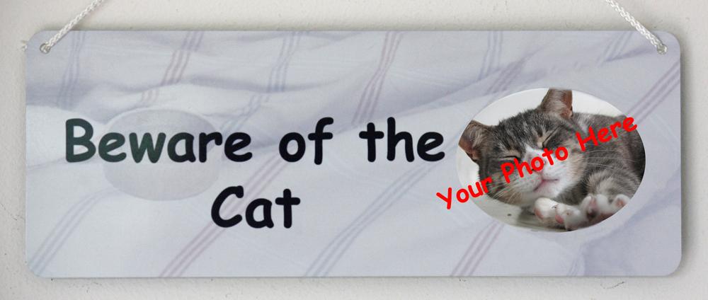 Beware of the Cat - Personalised