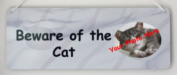 Beware of the Cat - Personalised