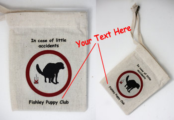 Poo Bag Carrier - Personalised