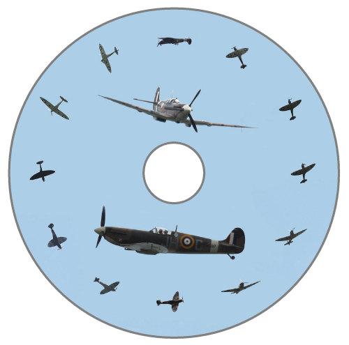 Spitfire (2) - Spitfire Dial, Blue Background