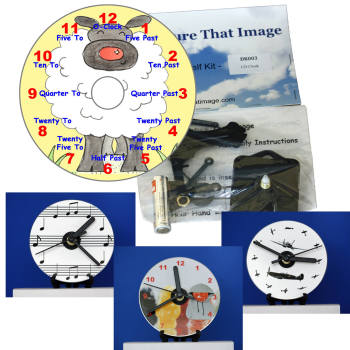 cd clocks sized