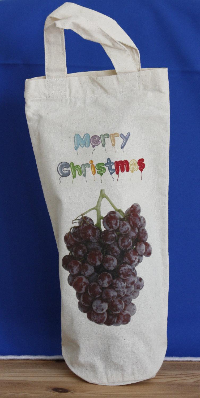 Bottle Bag - Merry Christmas
