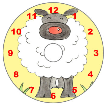 Sheep - Numeric Dial