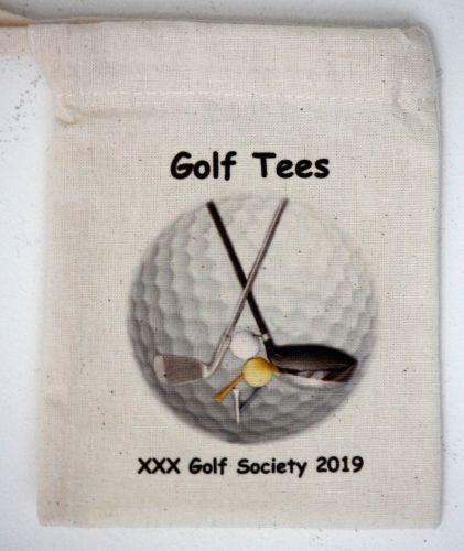 Golf Tee Bags - Personalised