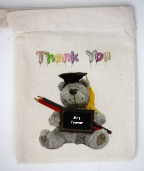 Thank You (Teacher) Personalised Mini Bag