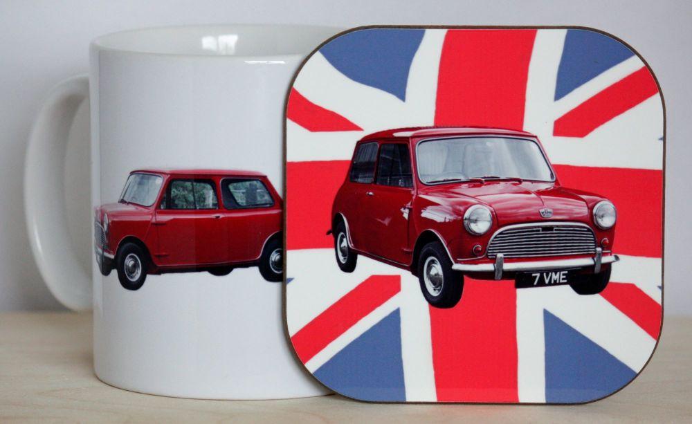 Austin Seven Mini Gift Set - Mug & Coaster