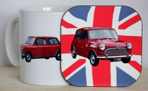 Austin Seven Mini Gift Set - Mug & Coaster