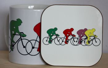 Cycling - Mug & Coaster